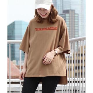 coen - coen ロゴプリントビッグTシャツ