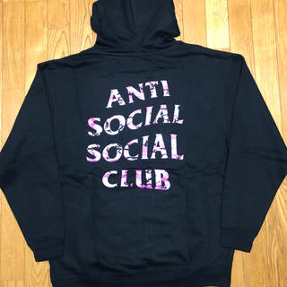 シュプリーム(Supreme)のANTI SOCIAL SOCIAL CLUB×UNDEFEATED パーカー(パーカー)