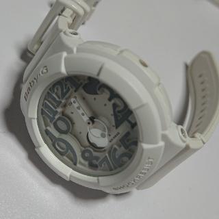 カシオ(CASIO)のBaby G ホワイト 腕時計(腕時計)