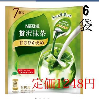 Nestle - ネスレ 贅沢抹茶6袋