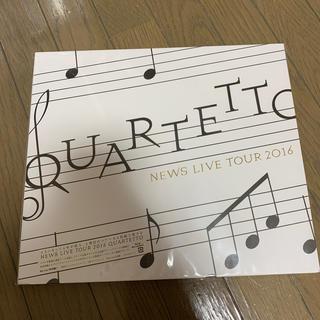 NEWS - NEWS LIVE TOUR 2016 QUARTETTO【Blu-ray】初回