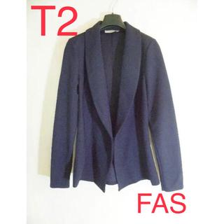 armoire caprice - 【未使用】FAS♡フランス製♡ネイビージャケット♡MLサイズ