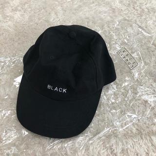 LOWRYS FARM - タグ付き新品◇ローリーズファーム シンプルキャップ 黒