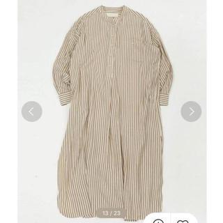 TODAYFUL - 新品 TODAYFUL Stripe Shirts Dress ベージュ 36