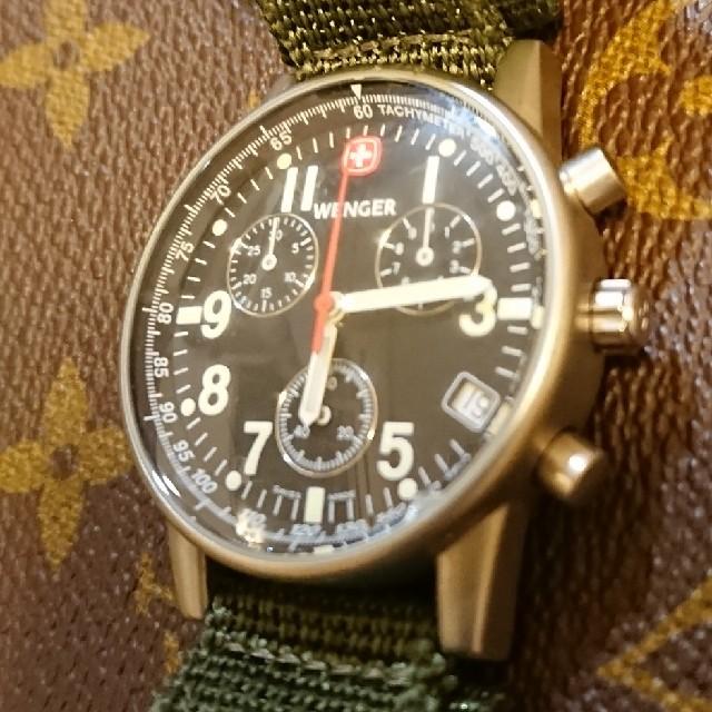 Wenger(ウェンガー)のWENGER7072X メンズの時計(腕時計(アナログ))の商品写真