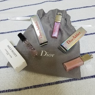 ディオール(Dior)のDior ディオール マキシマイザー 香水 巾着袋 サンプル 試供品(サンプル/トライアルキット)