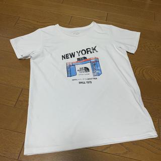 THE NORTH FACE - ザ ノースフェイス/プリントTシャツ/S
