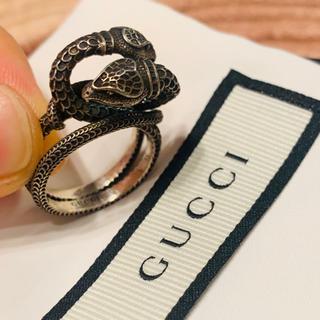 グッチ(Gucci)の《GUCCI》スネーク リング 15号(リング(指輪))