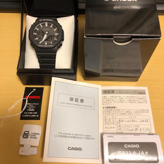 G-SHOCK(ジーショック)のGA-2100 CASIO G-SHOCK メンズの時計(腕時計(アナログ))の商品写真