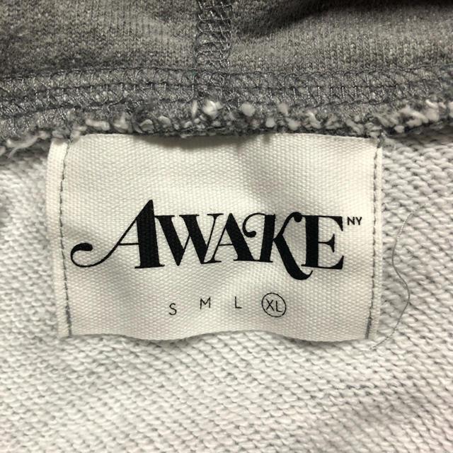 AWAKE(アウェイク)のXL AWAKE LOGO FOIL HOODED SWEATSHIRTパーカー メンズのトップス(パーカー)の商品写真