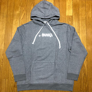 アウェイク(AWAKE)のXL AWAKE LOGO FOIL HOODED SWEATSHIRTパーカー(パーカー)