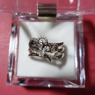 ロリータレンピカ(LOLITA LEMPICKA)のK18WG ロリータレンピカ ダイヤハートリング(リング(指輪))