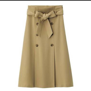 GU - トレンチAラインスカート
