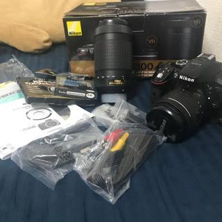 Nikon - 【バッテリー4本付き!】Nikon D5300 ダブルズームレンズキット