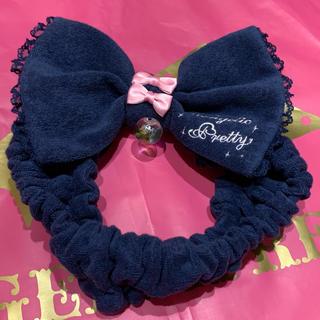 Angelic Pretty - すやすやToy タオルヘアバンド 紺