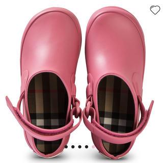 BURBERRY - バーバリー 子供 靴 シューズ