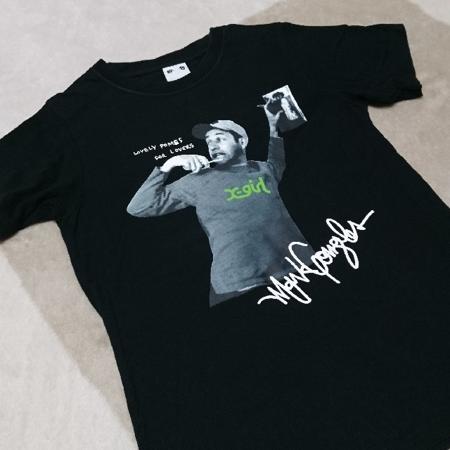 X-girl(エックスガール)のx-girl Tシャツ バッグ ポーチ ミニ財布(雑誌付録) レディースのトップス(Tシャツ(半袖/袖なし))の商品写真