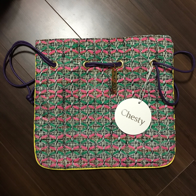 Chesty(チェスティ)の即購入可能★Chesty シャルマントサック 巾着 チェスティ レディースのバッグ(ハンドバッグ)の商品写真