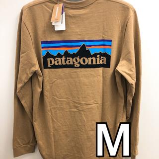 patagonia - パタゴニアロンT ベージュL