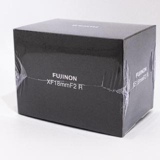 富士フイルム - [新品未使用]FUJIFILM 富士フイルム レンズ xf18mm f2 r