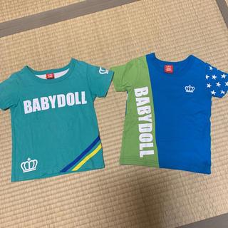 ベビードール(BABYDOLL)のベビードールTシャツ2点(Tシャツ/カットソー)