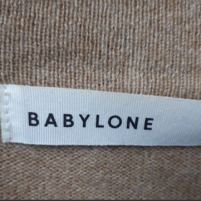 BABYLONE(バビロン)のBABYLONE カシミヤ100% ニット レディースのトップス(ニット/セーター)の商品写真