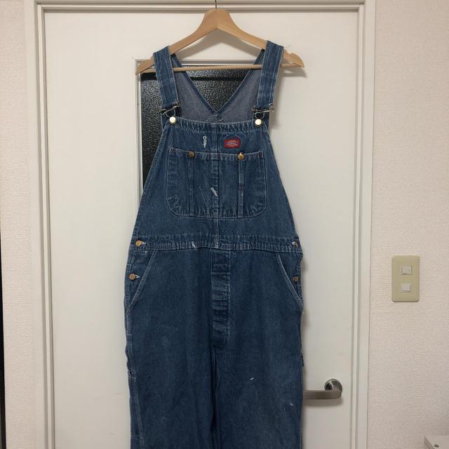 Dickies(ディッキーズ)のディッキーズ オーバーオール 古着 メンズのパンツ(サロペット/オーバーオール)の商品写真