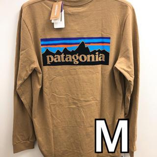 patagonia - パタゴニアロンT ベージュM