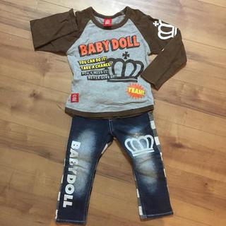ベビードール(BABYDOLL)のベビードール 二枚セット 90-95(Tシャツ/カットソー)