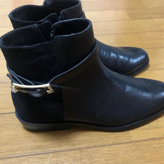 ZARA - 新品未使用ZARAショートブーツ黒 36
