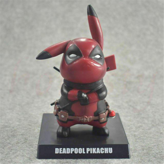 MARVEL - 新品 デッドプール ピカチュウ フィギュア Deadpool