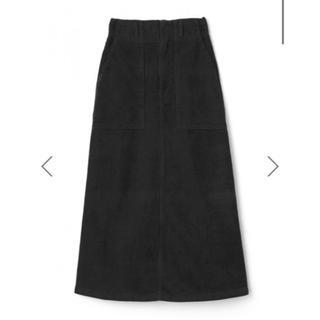 GRL - GRL コーデュロイロングスカート 黒
