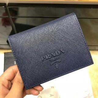 PRADA - 新未使用 { PRADA } 二つ折り財布こん