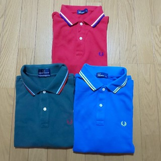 FRED PERRY - 半袖ポロシャツ3枚セット