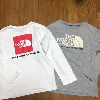 ザノースフェイス(THE NORTH FACE)のノースフェイス 長袖 ロンT ボックスロゴ 140(Tシャツ/カットソー)