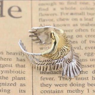 指輪 リング フェザー アクセサリー シルバー 925  鷹 羽根(リング(指輪))