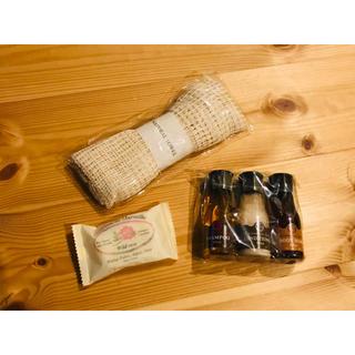 ポーラ(POLA)の旅行 ボディソープ シャンプー コンディショナー 石鹸 ボディタオル(旅行用品)