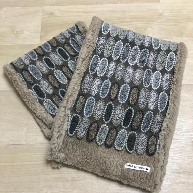 mina perhonen(ミナペルホネン)のミナペルホネン tarte ボアマフラー  レディースのファッション小物(マフラー/ショール)の商品写真