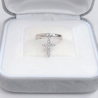 プラチナ900製 スウィングダイヤのリングです(リング(指輪))