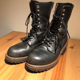 レッドウィング(REDWING)のレッドウィング ロガーブーツ(安全靴)26.5cm(ブーツ)
