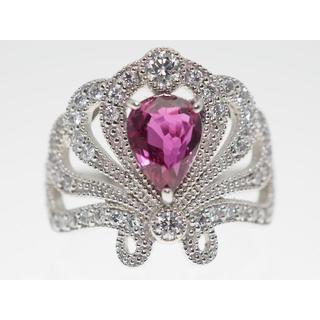 【R1.268Cts D0.480Cts】PT900 ダイヤモンドリング(リング(指輪))