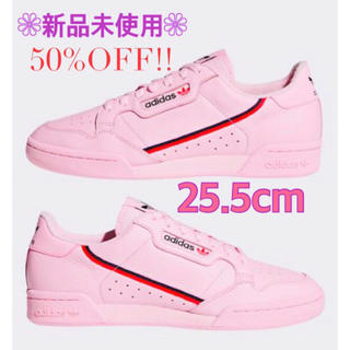 adidas - 新品 アディダス コンチネンタル80 レディース メンズ スニーカー ピンク 靴