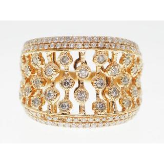 【1.00Cts】K18WGダイヤモンドリング【サイズ直し無料】(リング(指輪))