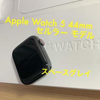 アップルウォッチ(Apple Watch)のApple Watch series 5 アップルウォッチ 5 セルラー (腕時計(デジタル))