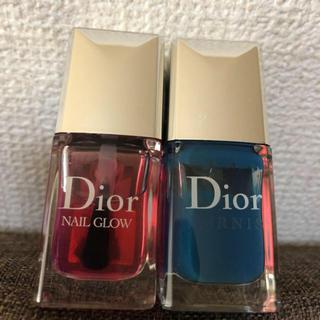 ディオール(Dior)のDior nail(ブルーのみ)(マニキュア)