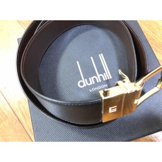 Dunhill - ダンヒル ブラックベルト 美品