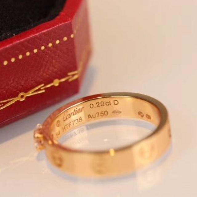 Cartier(カルティエ)の指輪 カルティエ18 Kローズゴールドドリル レディースのアクセサリー(リング(指輪))の商品写真