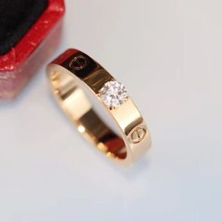 Cartier - 指輪 カルティエ18 Kローズゴールドドリル