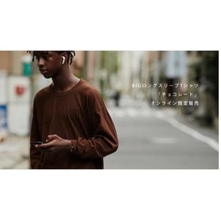コモリ(COMOLI)の久米繊維  ロングスリーブシャツ (Tシャツ/カットソー(七分/長袖))