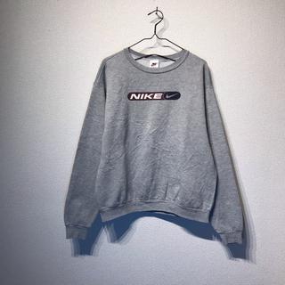 NIKE - NIKE ナイキ スウェット 白タグ銀タグ USA製 グレー XL